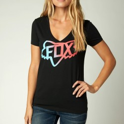 Tee Shirt Fox Changing Vneck