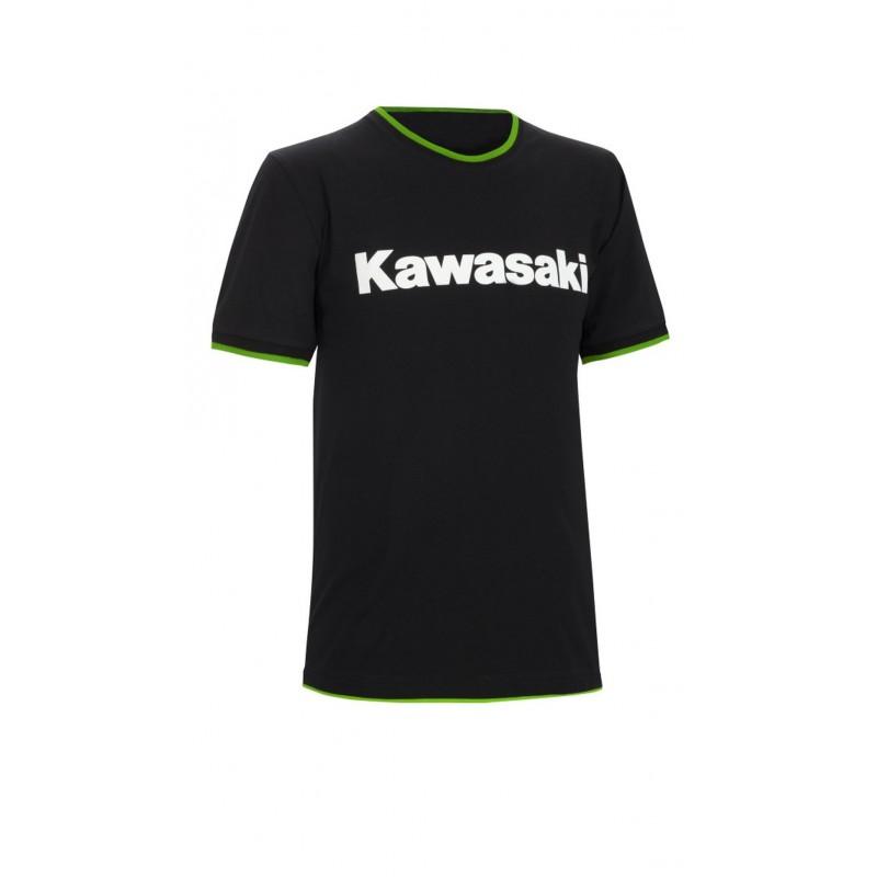 tee shirt pour homme kawasaki sportswear motard. Black Bedroom Furniture Sets. Home Design Ideas